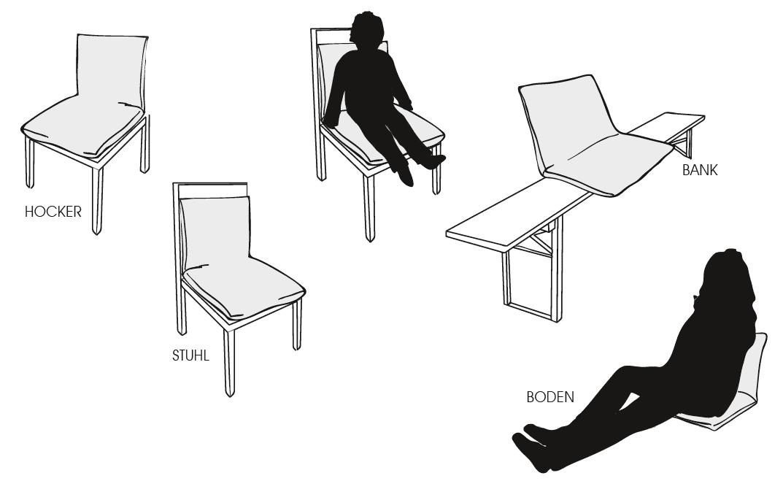 Bullfrog Probier 0572 Sitzkissen Verwendung