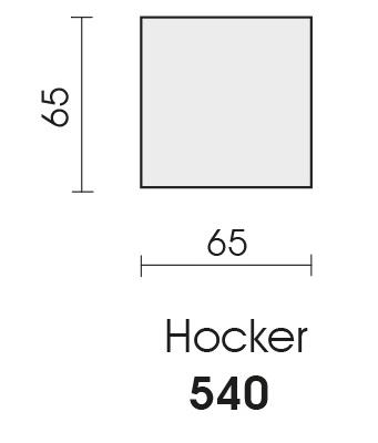 Bullfrog Charlotte 4320 Hocker Maße